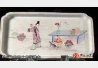 20120930收藏马未都视频和笔记:花卉纹阔口瓶,粉彩盘,清粉彩执壶