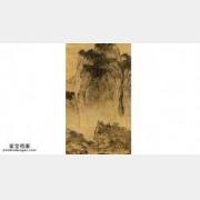 20050126国宝档案视频和笔记:溪山行旅图(上),范宽,荆浩,芝麻皴
