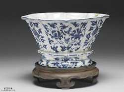 清代青花瓷盆的图片,特点,价格,鉴赏,馆藏