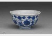 明代万历青花花卉杯的图片,特点,价格,鉴赏,馆藏