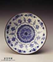明代嘉靖青花番莲八宝碗的图片,特点,价格,鉴赏,馆藏