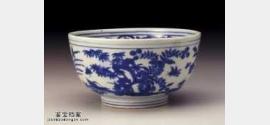 明代嘉靖青花四季花卉碗的图片,特点,价格,鉴赏,馆藏