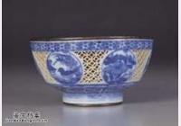 明代万历青花白地玲珑银里茶盅的图片,特点,价格,鉴赏,馆藏