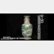 20090320天下收藏视频和笔记:清青花粉彩瓶,粉彩碗,灯笼尊,葫芦瓶