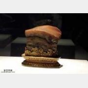 日本博物馆特别展:肉形石,定武兰亭序卷,青瓷轮花碗
