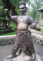 20050720国宝档案视频和笔记:晋祠铁人,金人,晋祠,刘元吉