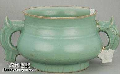 龙泉窑瓷器特征的鉴别