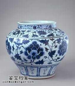 元代青花瓷器特征的鉴别
