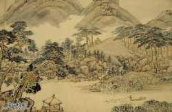 古字画传统式样特征的鉴别