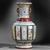 清代乾隆御窑各色釉大瓶(瓷母)拍出1.51亿元,啥是瓷母?