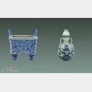 20140921一槌定音视频和笔记:青花鼎式炉,民国紫砂壶,沈觐寿对联