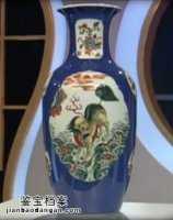 20141105华夏夺宝视频和笔记:铜胎画珐琅碗,琵琶尊,墨地绿彩方瓶