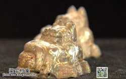 20141119华夏夺宝视频和笔记:错金银席镇,商代青铜彝鼎,角,三牺鼎