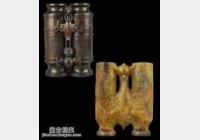 20141214一槌定音视频和笔记:红木合卺杯,和田玉双喜牌,青花梅瓶