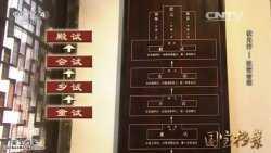 20151203国宝档案视频和笔记:状元行,改变命运,独占鳌头,金榜题名