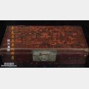 20160123收藏马未都视频和笔记:明末清初犀皮漆鸟兽纹拜盒,江千里