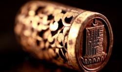 马未都脱口秀《观复嘟嘟》第17期:明代铜鎏金镂空印,十相自在