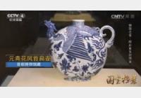 20160819国宝档案视频和笔记:镇馆之宝元青花凤首扁壶