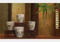 马未都脱口秀《观复嘟嘟》第39期:粉彩四季花鸟杯,审美情趣