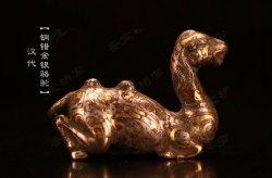 马未都脱口秀《观复嘟嘟》第55期:汉代铜错金银骆驼,贩卖国宝的人
