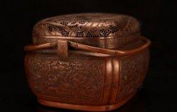 马未都脱口秀《观复嘟嘟》第56期:清康熙铜透雕山水纹方手炉,节气