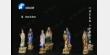 20170209华豫之门视频和笔记:环带纹,宝相花,袁安碑,铜鎏金,贴骨