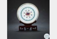 免费鉴宝第88期:清光绪粉彩蝴蝶太极八卦纹碗