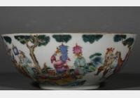 免费鉴宝第106期:清同治时期粉彩人物纹大碗