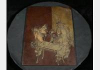 免费鉴宝第116期:清代紫石浮雕人物纹插屏