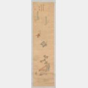 康熙刺绣吹箫庆曲图轴档案