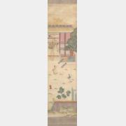 清乾隆刺绣庆寿通景屏档案