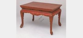 清早期填漆戗金龙戏珠纹宴桌档案