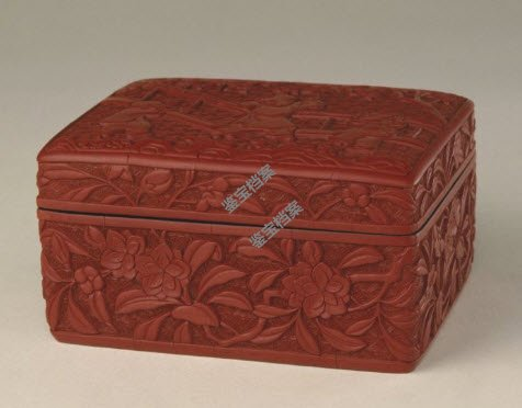 明中期剔红婴戏图长方盒档案