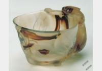 明玛瑙单螭耳杯档案